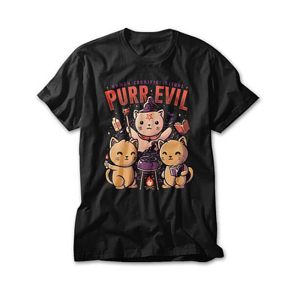 OtherTees: Purr Evil