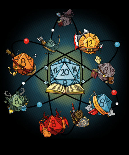 Qwertee: Chemical Dice