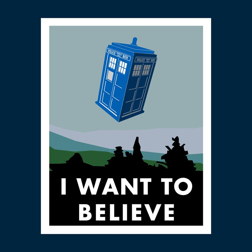 Blue Box Tees: I Want To Believe