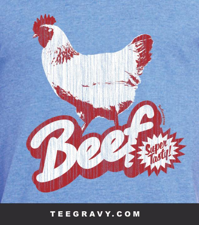 Tee Gravy: Cheap Beef