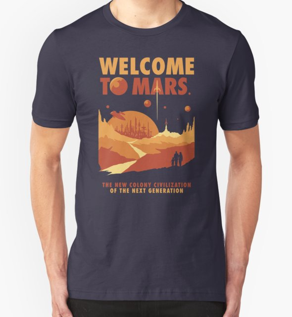 RedBubble: Welcome to Mars