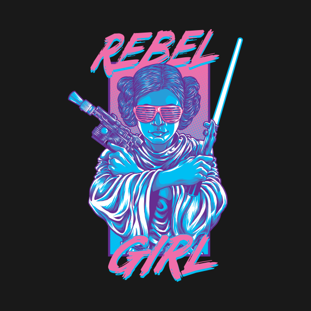 TeePublic: Rebel Girl
