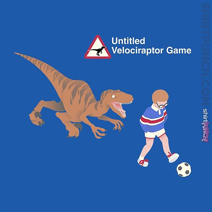 ShirtPunch: Untitled Velociraptor Game