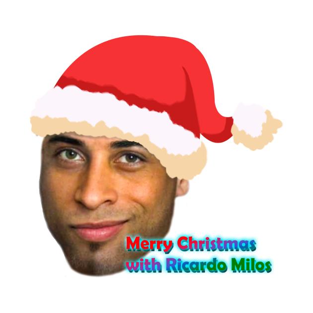 TeePublic: ricardo milos christmas