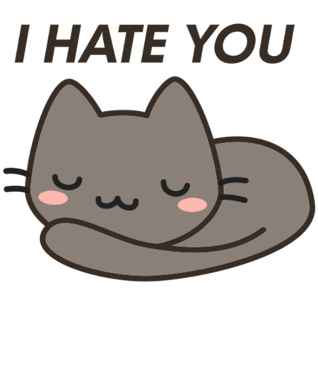 Qwertee: Honest cat