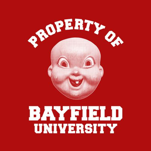 Five Finger Tees: Bayfield University T-Shirt
