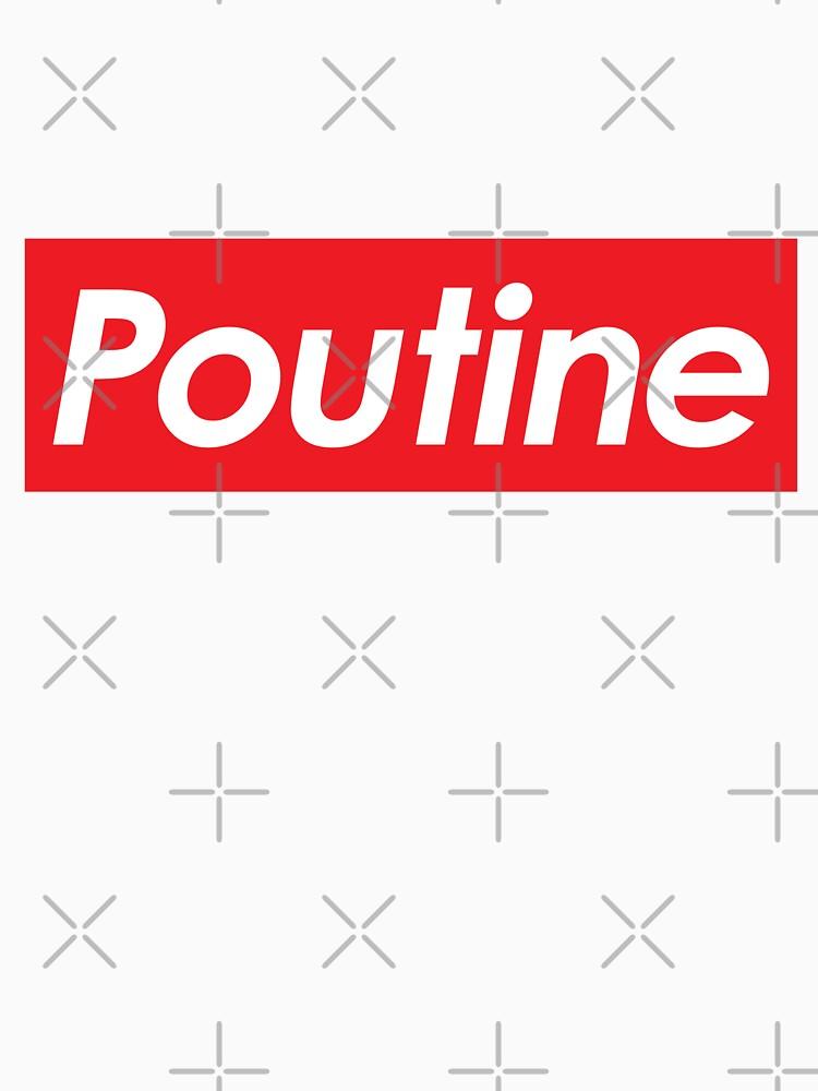 RedBubble: Supreme Poutine