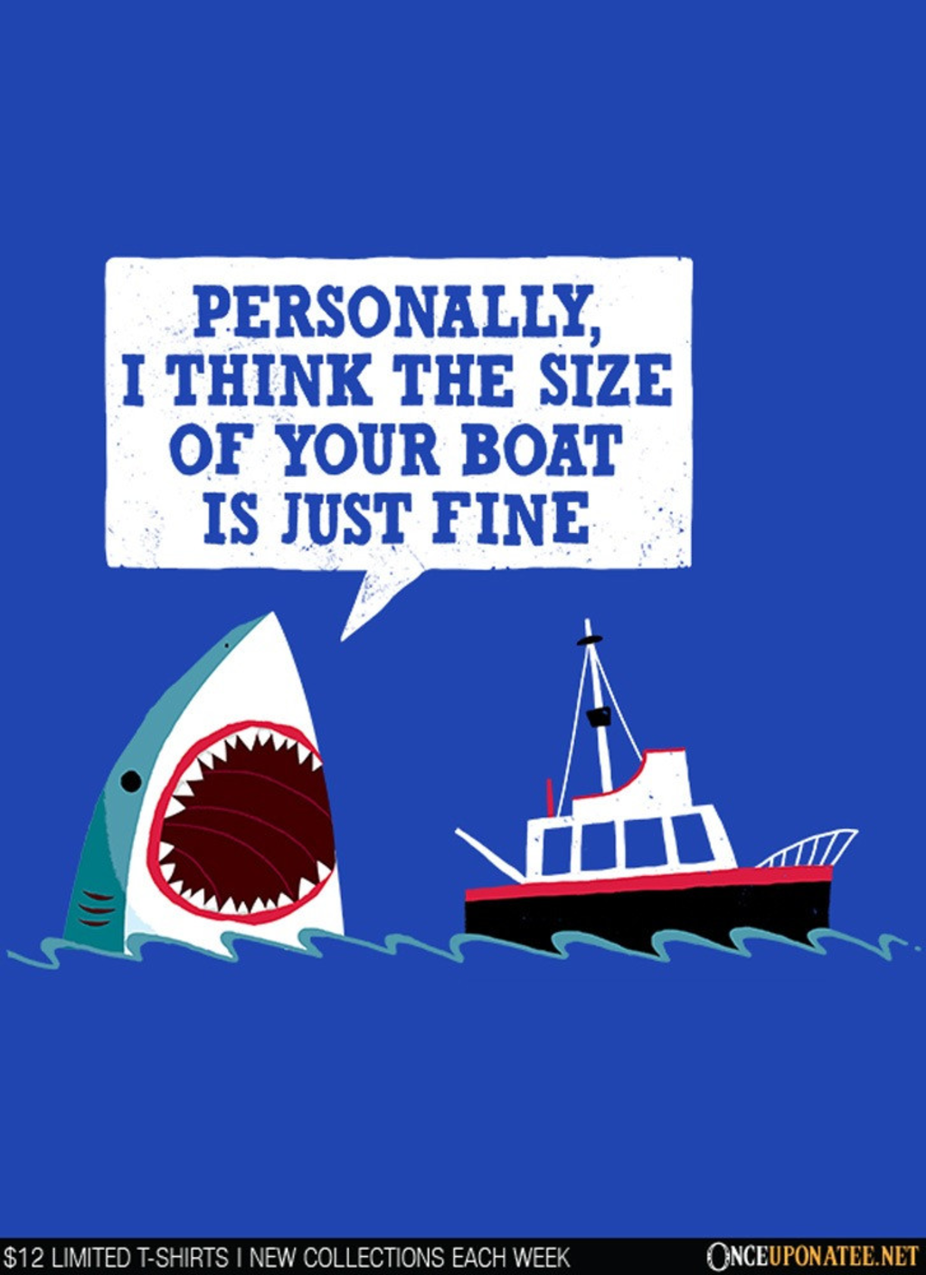 Once Upon a Tee: Polite Jaws