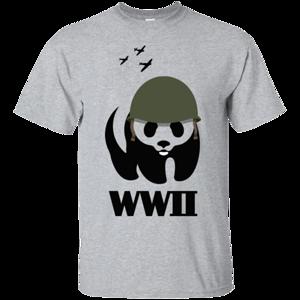 Pop-Up Tee: WWII Panda