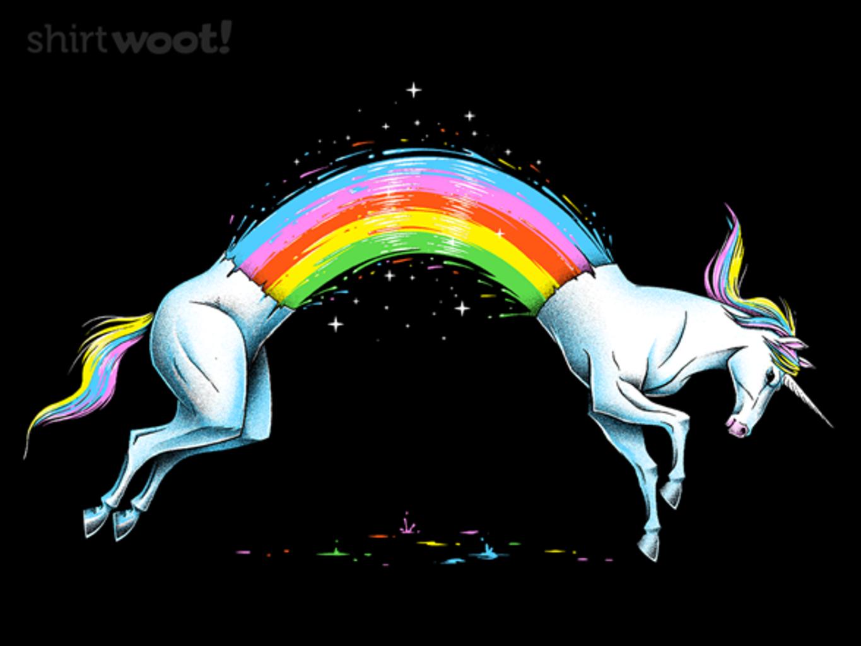 Woot!: Unicorn Rainbow