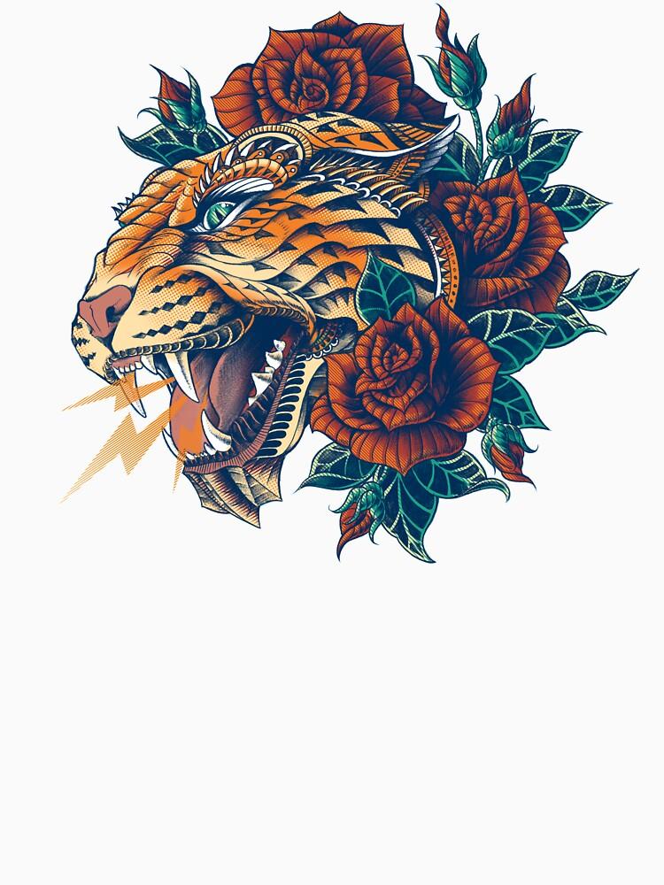 RedBubble: Ornate Leopard (Color Version)