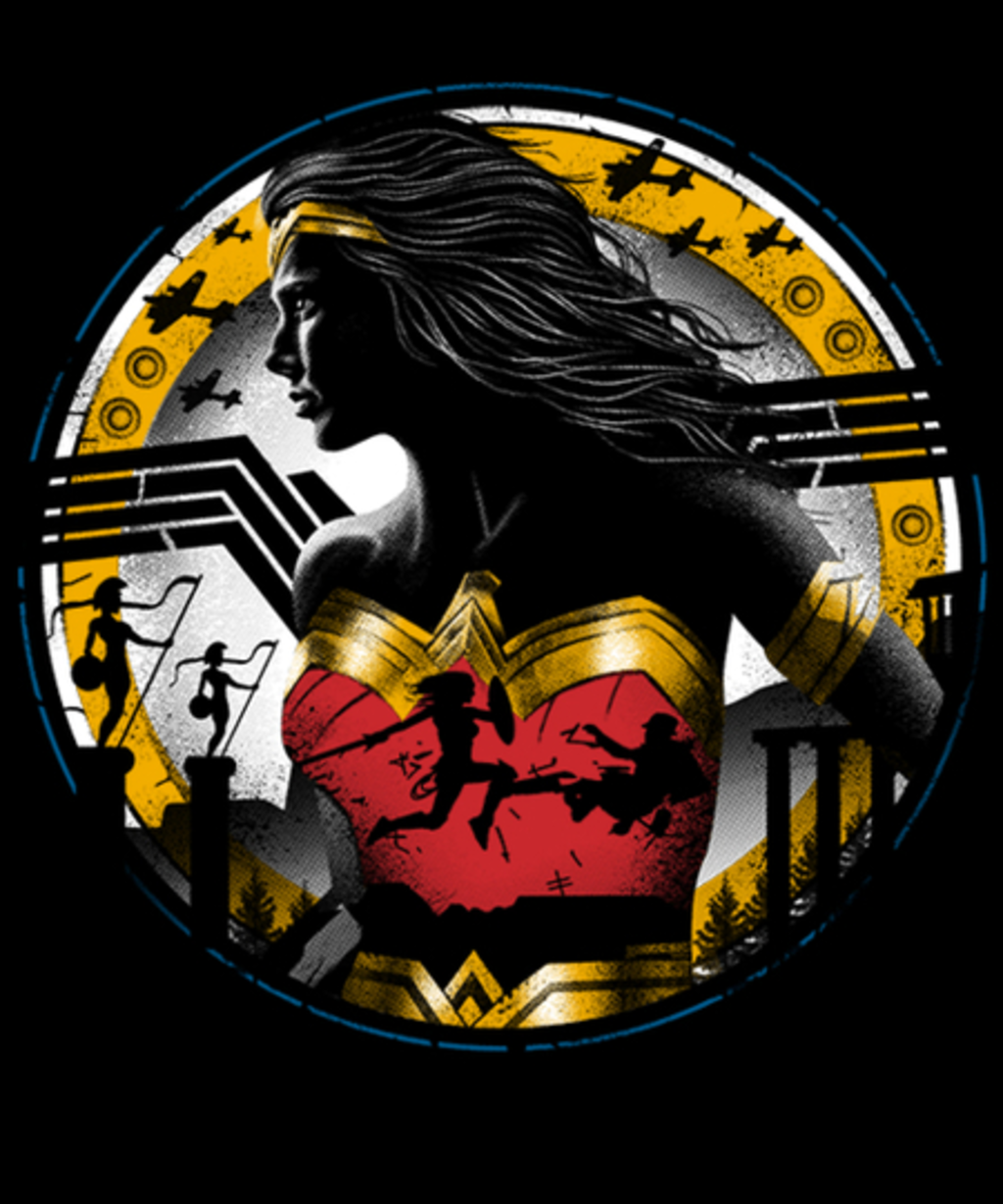 Qwertee: Amazon Girl