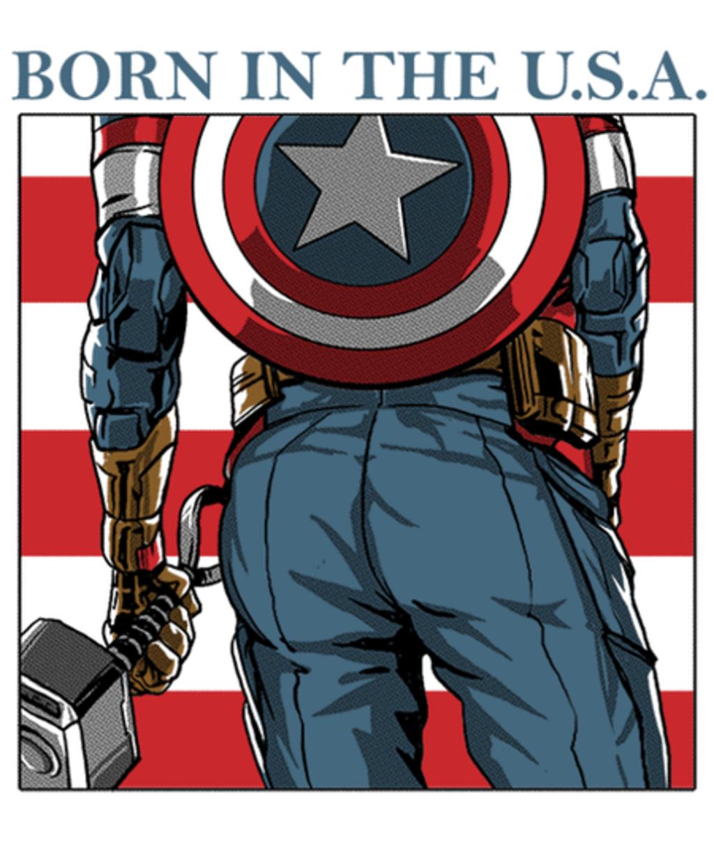 Qwertee: America's Ass
