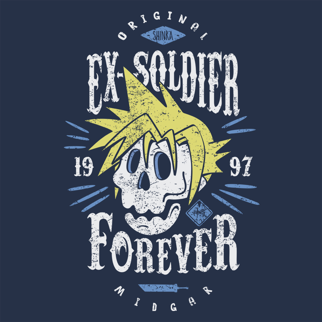 Pop-Up Tee: Ex-Soldier Forever