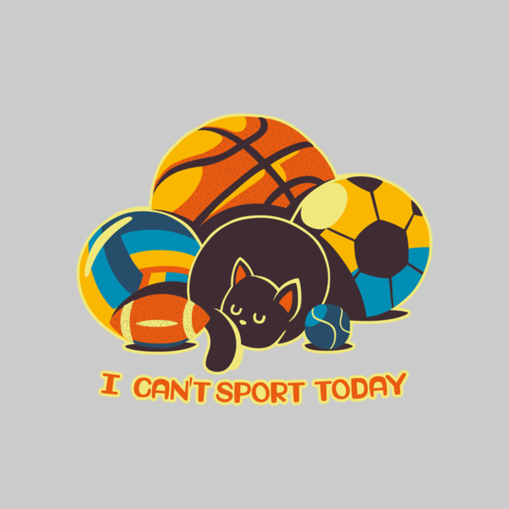 NeatoShop: I Can't Sports Today