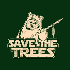 Five Finger Tees: Save The Trees T-Shirt