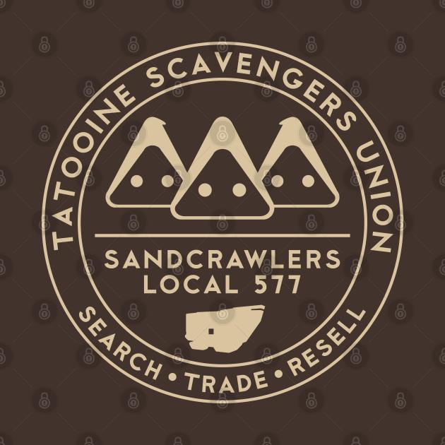 TeePublic: Tatooine Scavengers Union