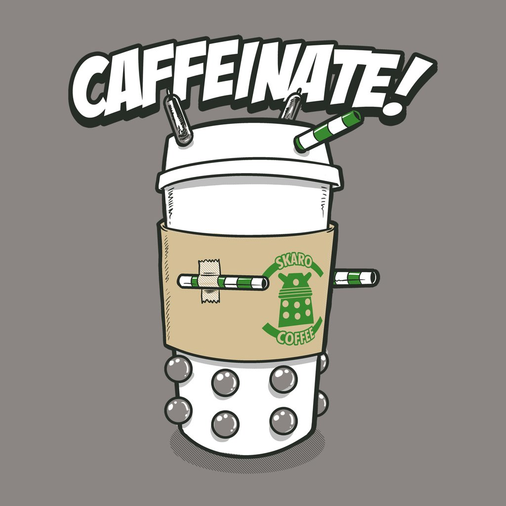 Blue Box Tees: Caffeinate!