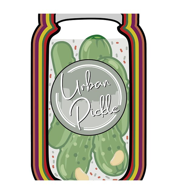 RedBubble: Kickin' Dill Pickle Jar