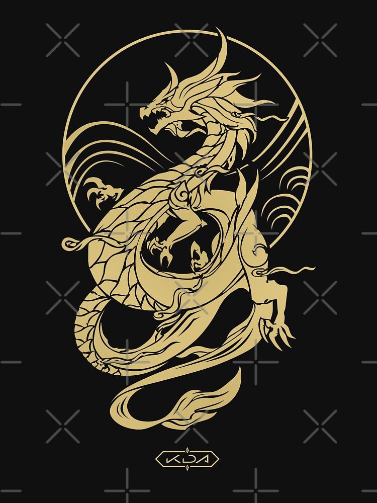 RedBubble: K/DA Akali Dragon