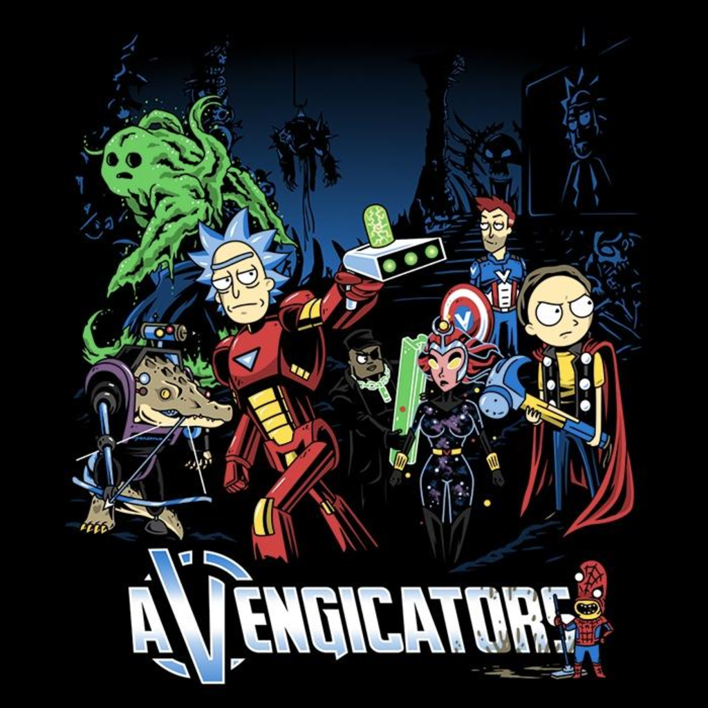 Once Upon a Tee: Avengicators