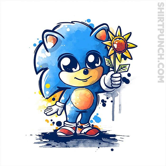 ShirtPunch: Little Baby Hedgehog