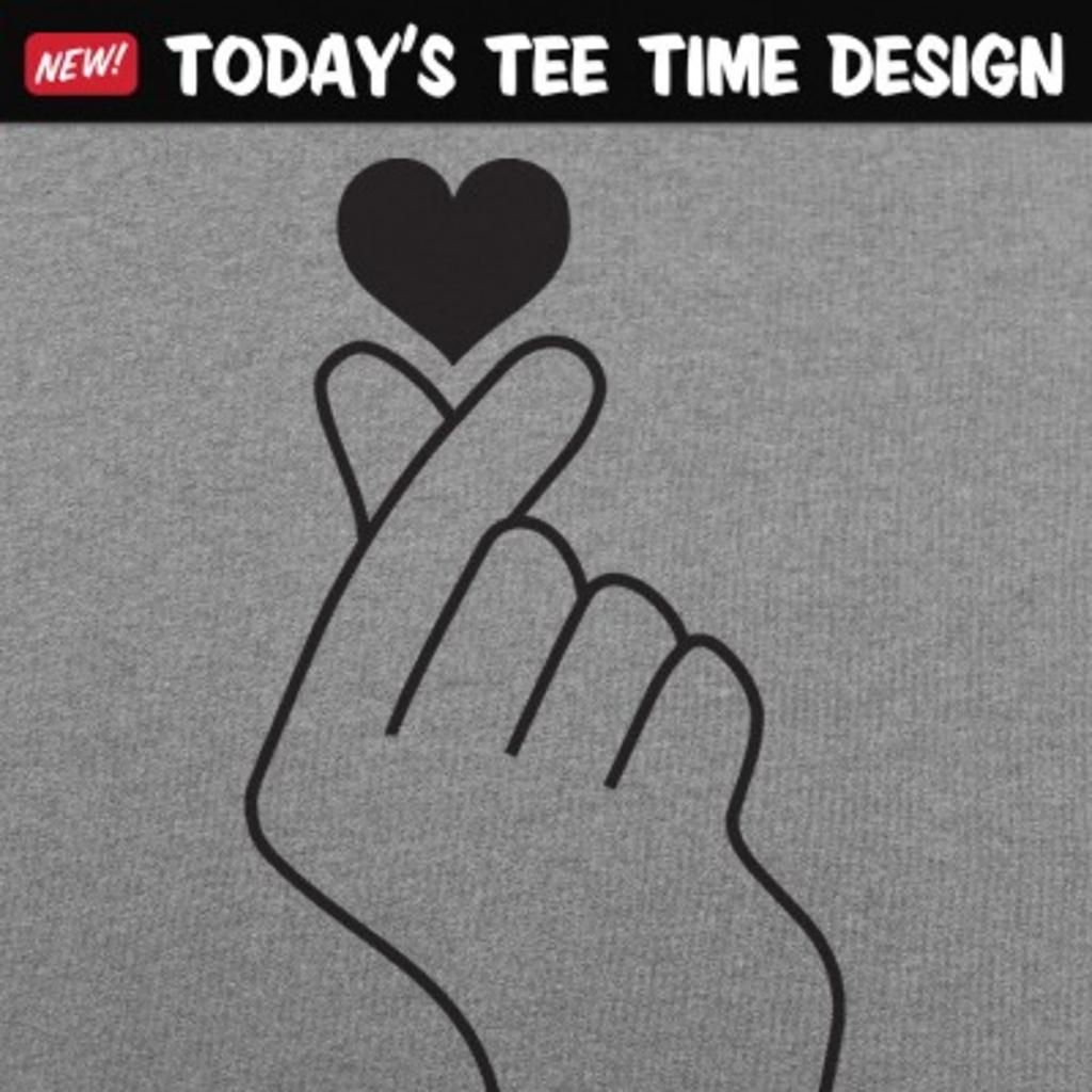 6 Dollar Shirts: Tiny Heart Fingers
