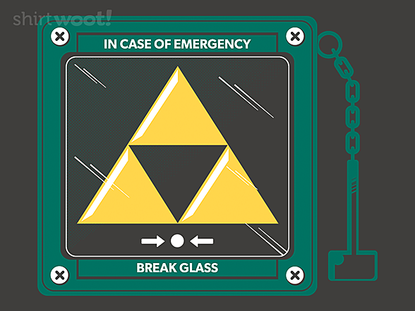 Woot!: In Case of Villains, Bring the Symbol