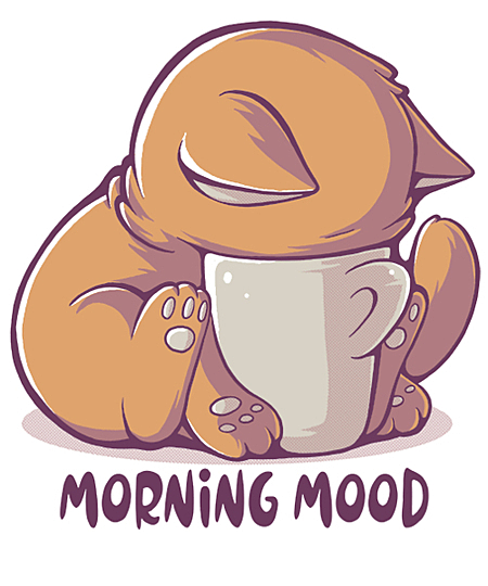 Qwertee: Morning Mood