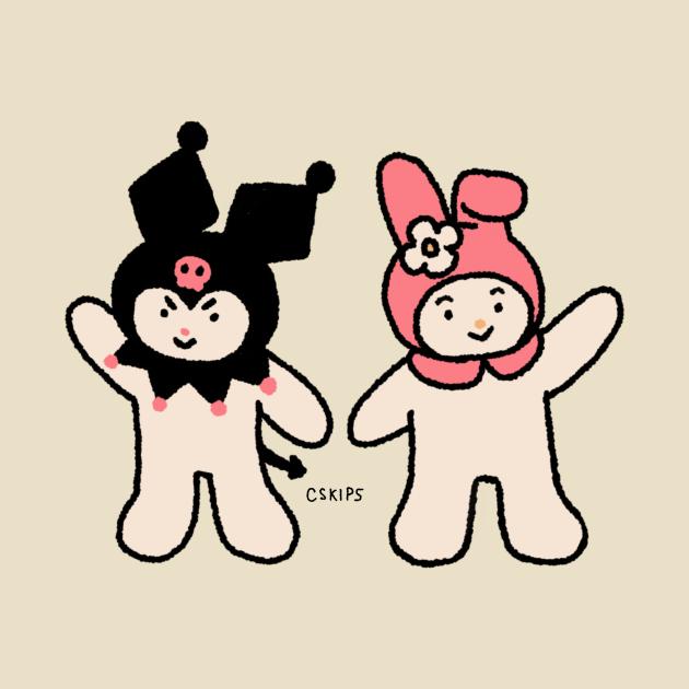 TeePublic: Kuro and Melo