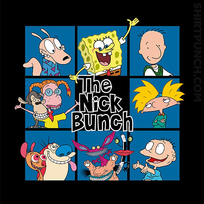 ShirtPunch: The Nick Bunch