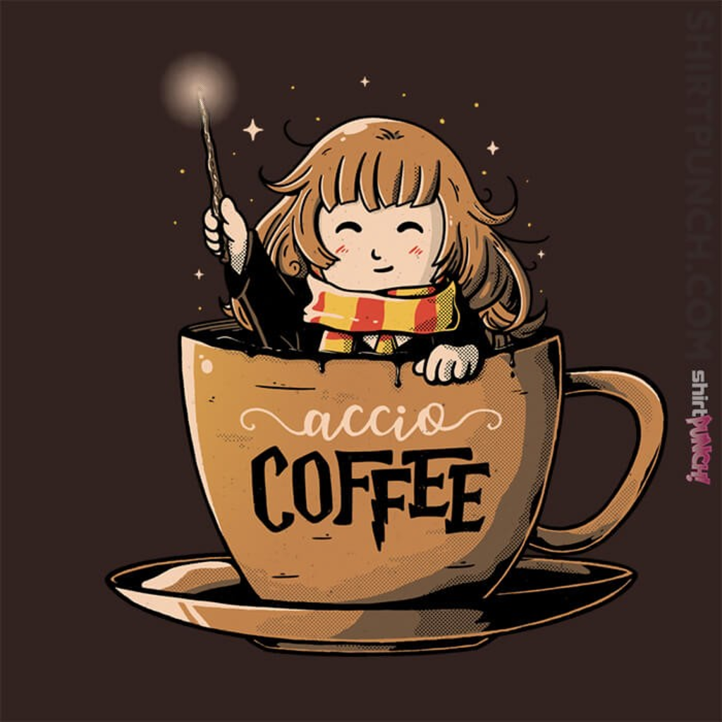 ShirtPunch: Accio Coffee