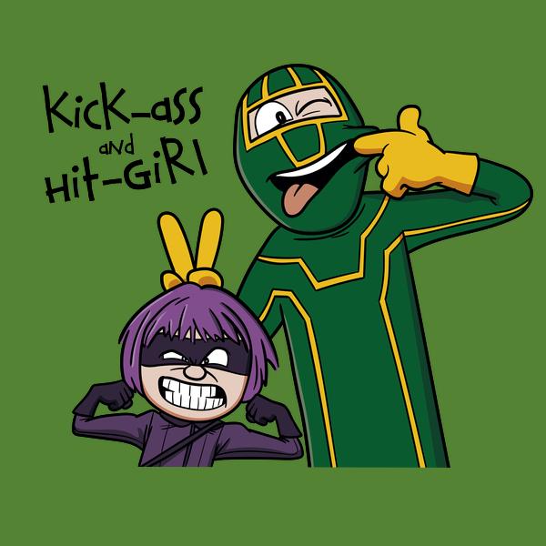 NeatoShop: Kick-Ass and Hit-Girl
