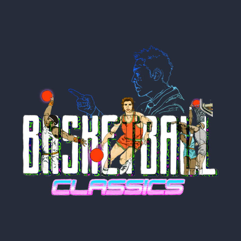 TeePublic: Basketball Classics - Retro