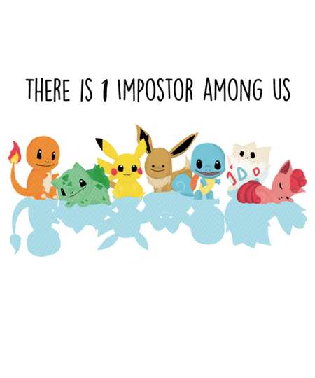 Qwertee: POKEIMPOSTORS