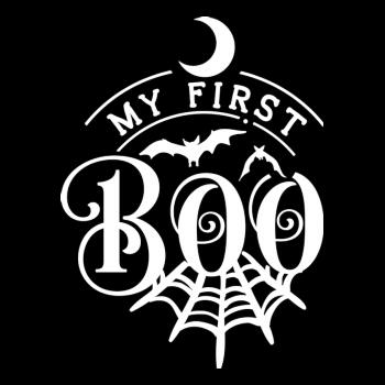 BustedTees: My First Boo Kids Shirt