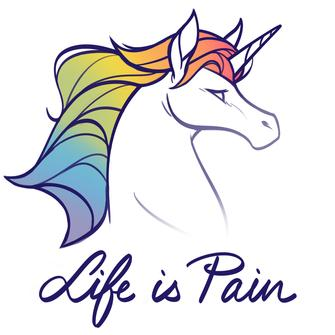 TeeTurtle: Life Is Pain