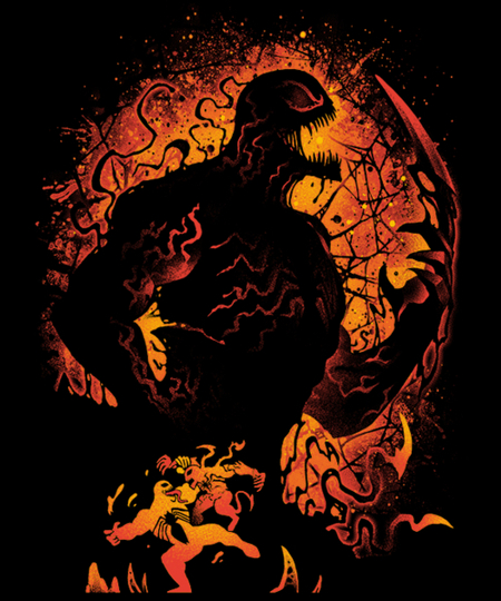 Qwertee: Symbiote of Vengeance