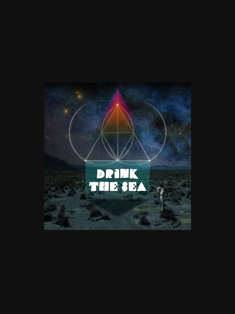 RedBubble: The Glitch Mob - Drink The Sea Album Cover