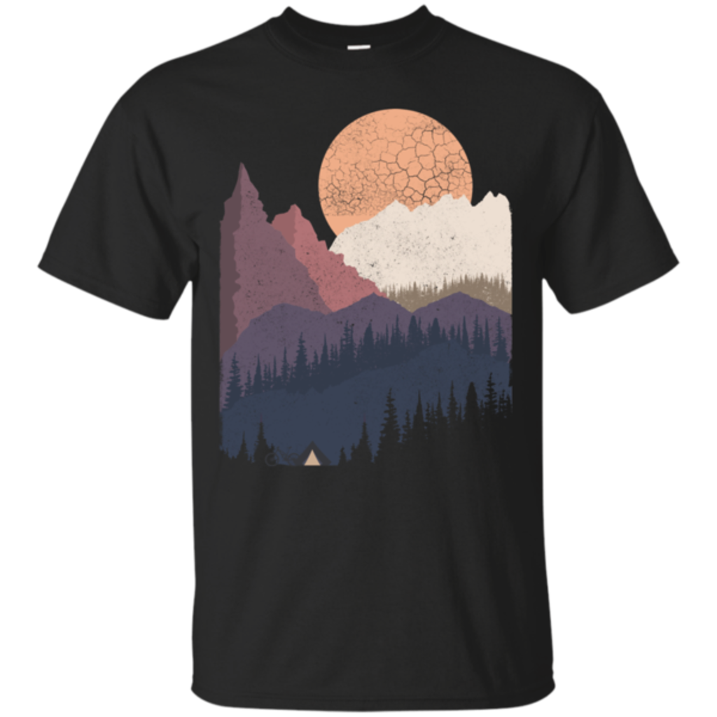 Pop-Up Tee: Scenic Camping