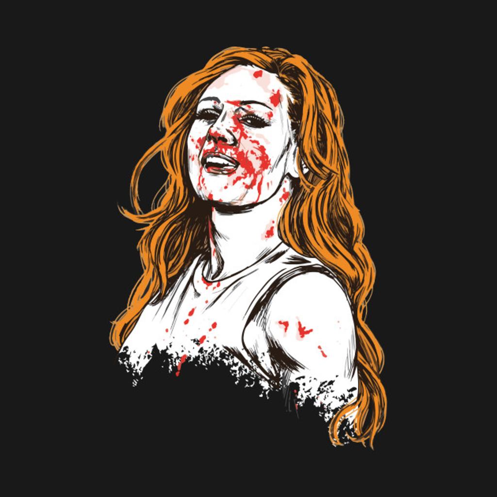 TeePublic: Becky Lynch Bloody