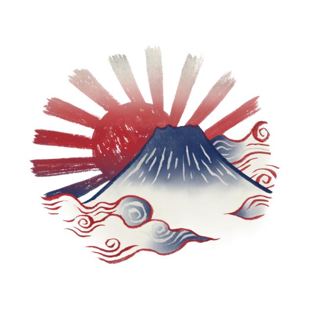 TeePublic: Fuji-san (富士山 / Mt.Fuji)
