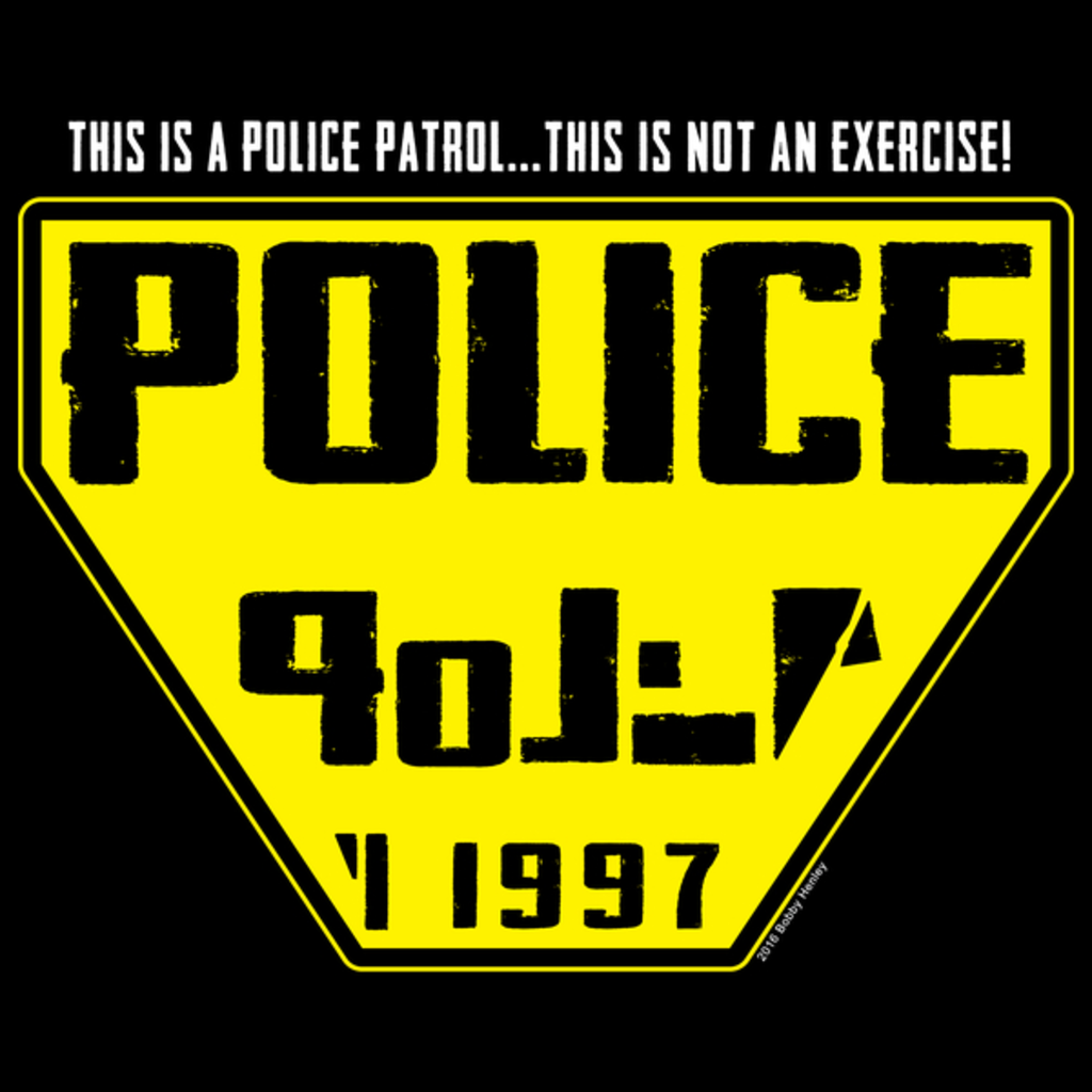 NeatoShop: Science Fiction Police Dept.