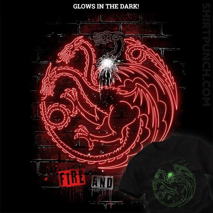 ShirtPunch: Neon Dragons
