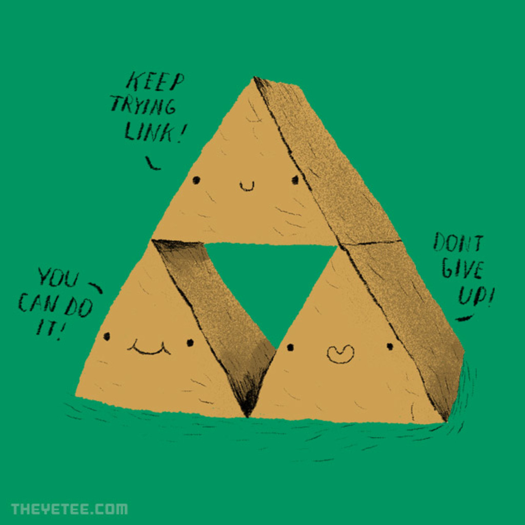 The Yetee: the try force