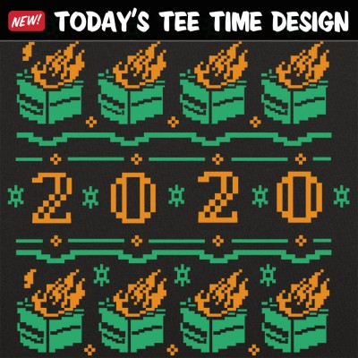 6 Dollar Shirts: Dumpster Fire 2020 Ugly Sweater