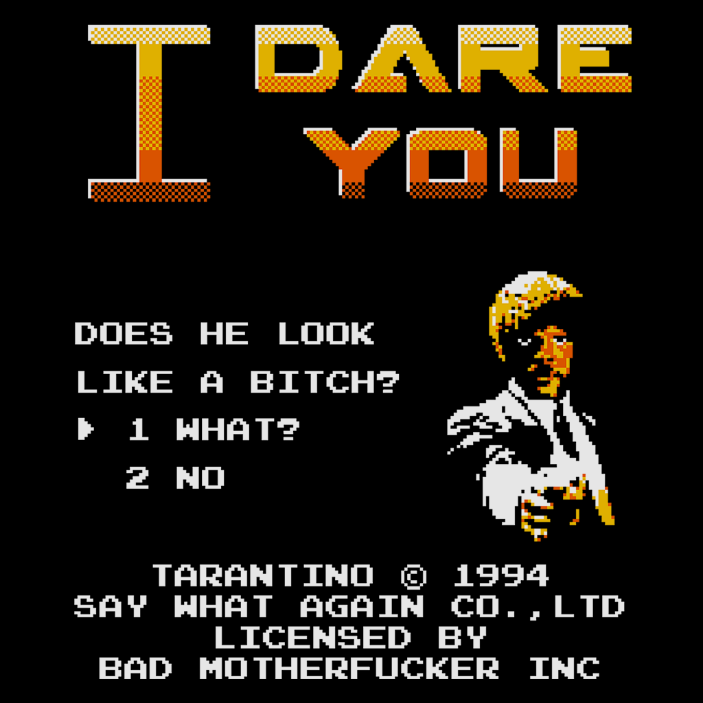 Pop-Up Tee: I Dare You