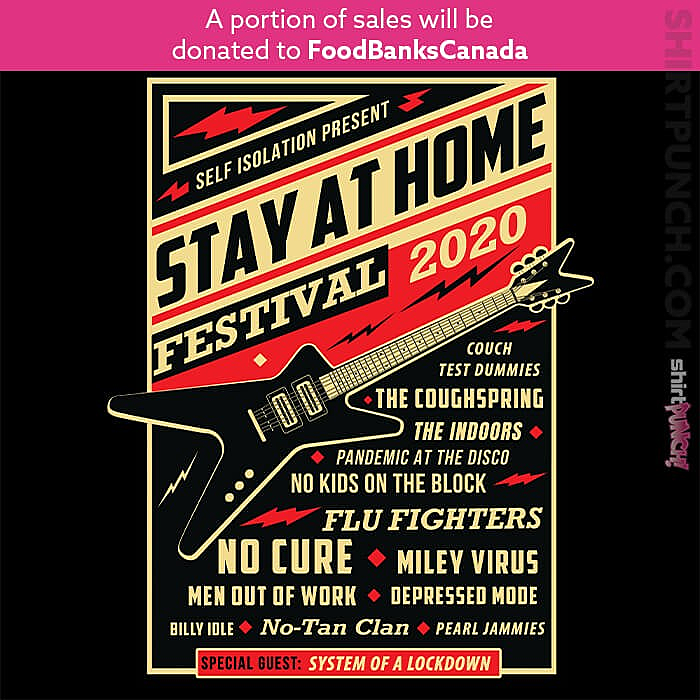 ShirtPunch: Stay At Home Festival 2020