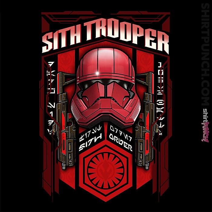 ShirtPunch: Sith Trooper