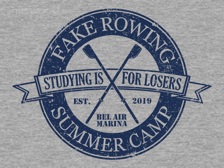 Woot!: Fake Rowing Camp